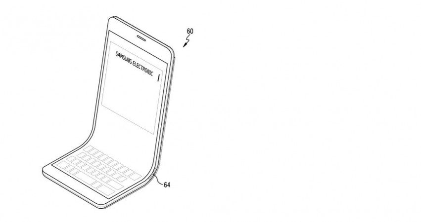 Samsung Flexible Electronics Device patent, Galaxy X, Galaxy X foldable screen