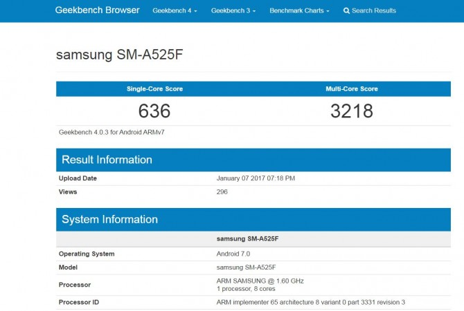 Samsung, Android Nougat, release, news, Galaxy A5(2016), Google mobile OS v7.0, Geekbench