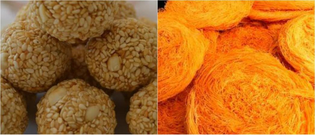 Makar Sankranti, sweets