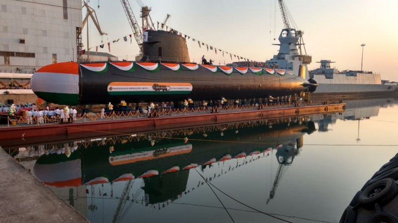 Khanderi: 2nd Scorpene class submarine launched today in Mumbai