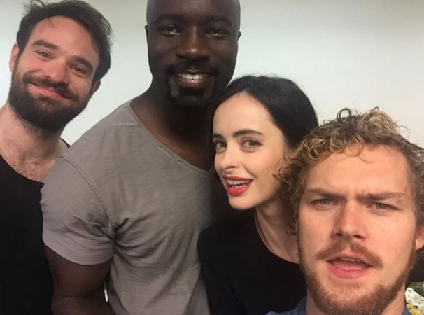 Marvel's The Defenders First Look: Netflix's Heroes Team Up to Look Tough