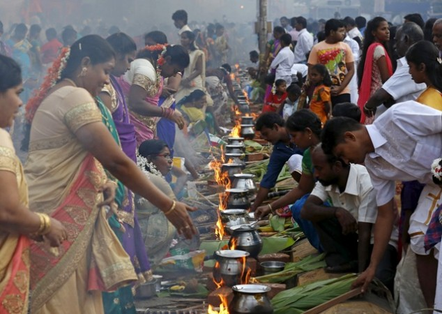 Happy Pongal 2017: Best SMS, wishes in English, Gif images ...
