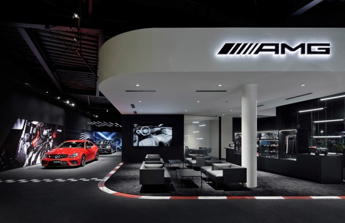 Mercedes Benz Opens World S First Dedicated Amg Showroom