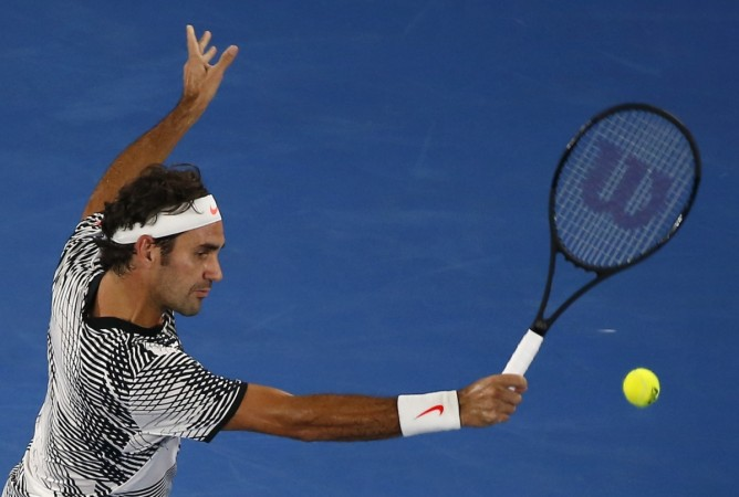 Roger Federer v Tomas Berdych, Australian Open 2017
