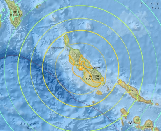 Powerful Earthquake Strikes Near Papua New Guinea