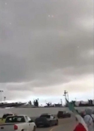 UFO spotted, america, mexico, tijuana,