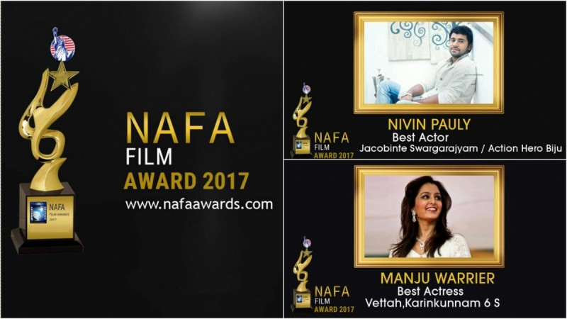 NAFA, NAFA 2017, NAFA 2017 winners, North American Film Awards 2017