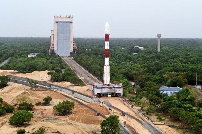ISRO's PSLV-C34 at Satish Dhawan Space Centre
