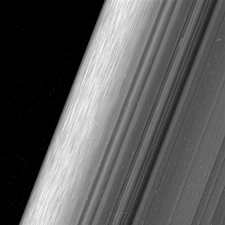 The Cassini Spacecraft Has Taken New Photos Of The Rings Of Saturn