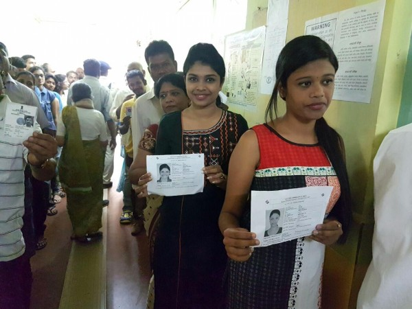 Goa Assembly elections, Goa polling, Panaji voting