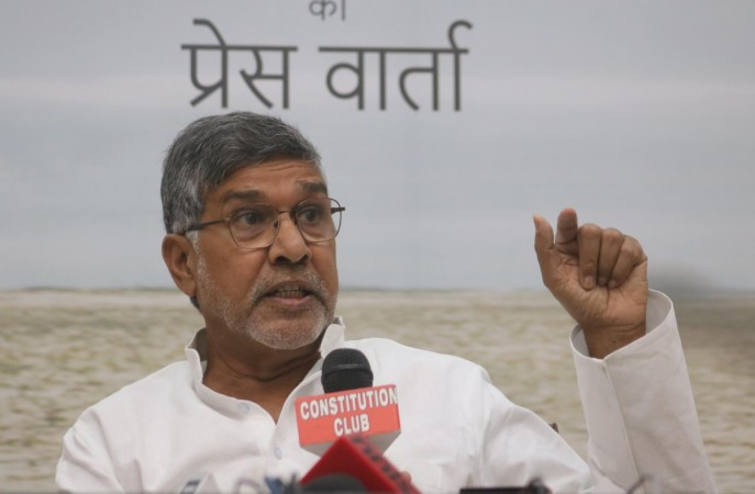 Child rights activist Kailash Satyarthi's stolen Nobel Prize replica recovered