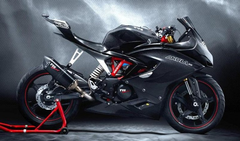 TVS Apache RR 310S (Akula 310) likely to be priced on a par with KTM RC 200 - IBTimes India