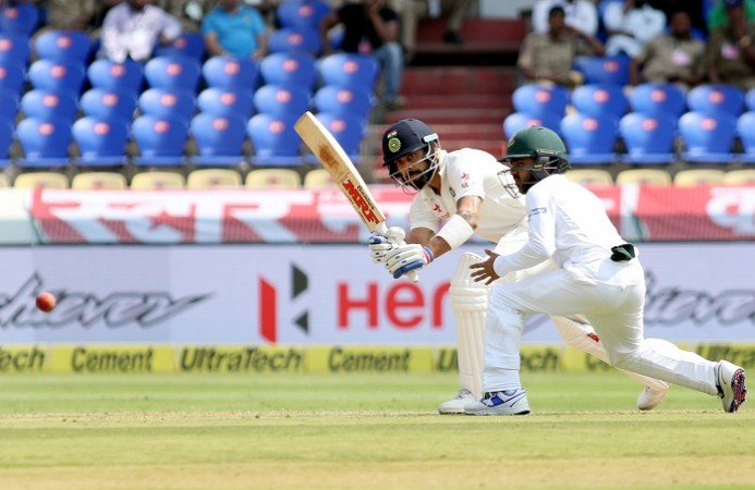 Indian seamers dent Bangladesh reply in one-off Test