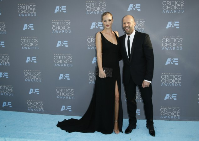 Rosie Huntington-Whiteley Expecting First Child With Fiance Jason Statham