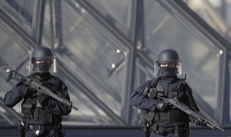 Explosion at IMF Paris offices after envelope opened, one person hurt