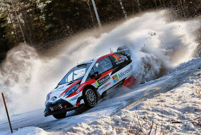 Jari-Matti Latvala wins Rally Sweden 2017