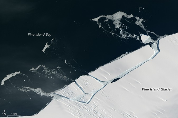 NASA, Antarctica, iceberg, environment,