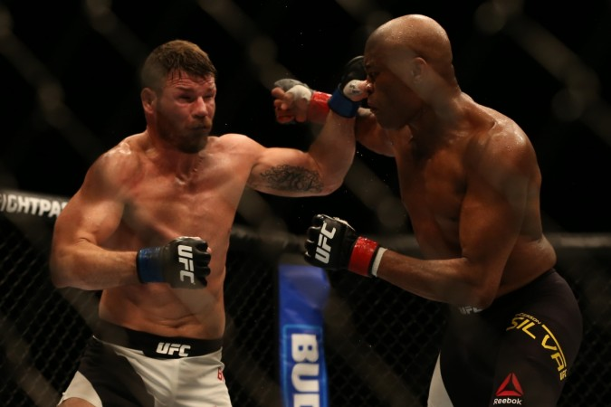 michael bisping, anderson silva, ufc
