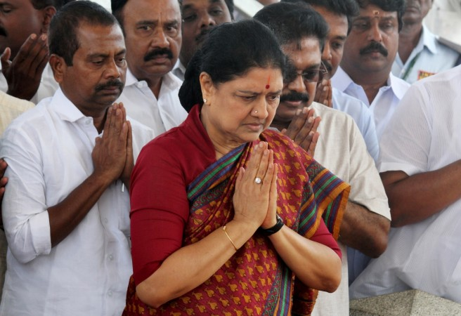 Sasikala can walk in and out of jail at will?