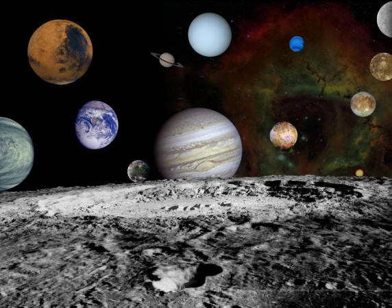 nasa planets with moons - photo #43