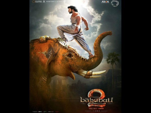 Bahubali 2 poster