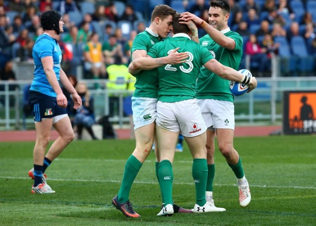 Six Nations 2017: Ireland overpower France to top standings