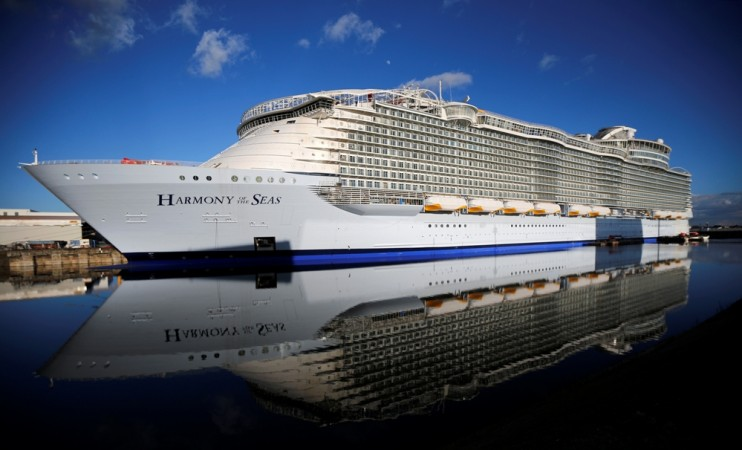 Top Biggest Cruise Ships In The World Royal Caribbean - Biggest cruise ships list