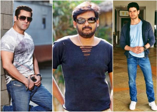 Salman Khan, Puri Jagannadh, Sooraj Pancholi