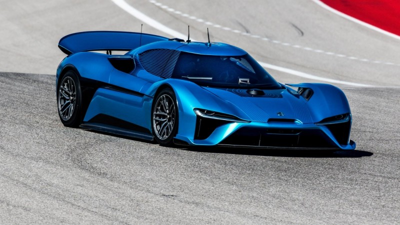 NIO EP9: Electric supercar smashes Nürburgring lap record