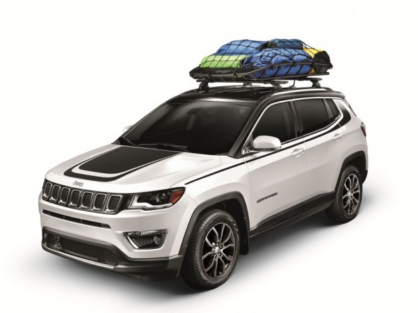 This Jazzed Up Jeep Compass Suv Tells You What Mopar Brand Stands