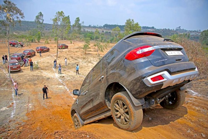 Ford Endeavour Off Road Drive Experience When The Suv Is Totally
