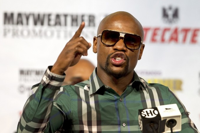 Floyd Mayweather does first tv interview since Conor McGregor fight