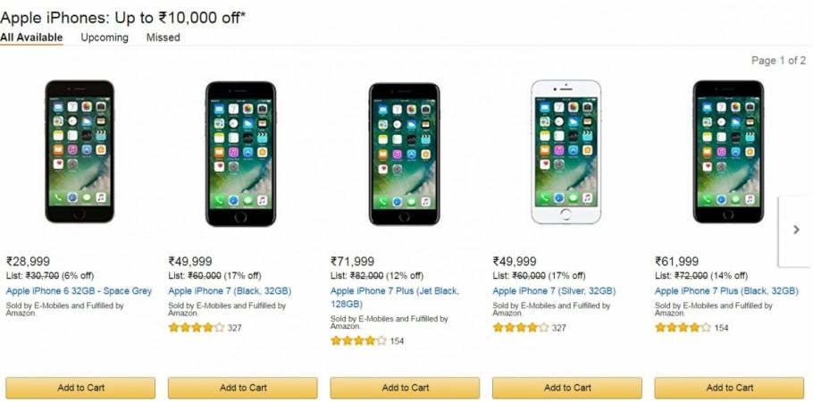 IPhone 7 Amazon Plus DiscountIndia Price Specification