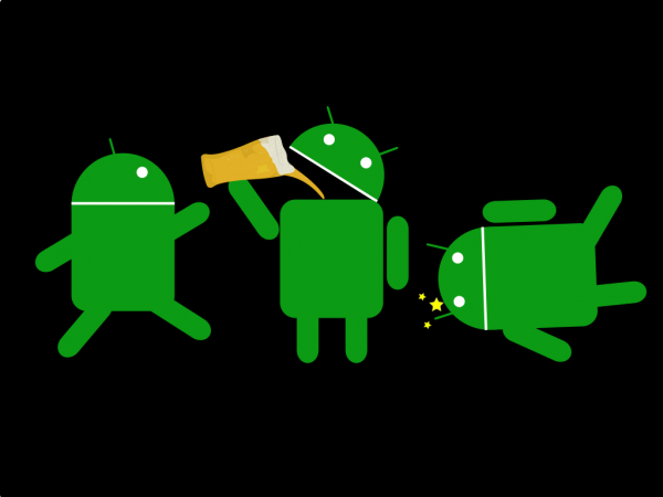 Malware affected Android phones