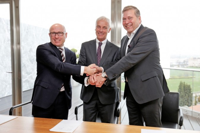 Tata Motors in product-development pact with VW, Skoda