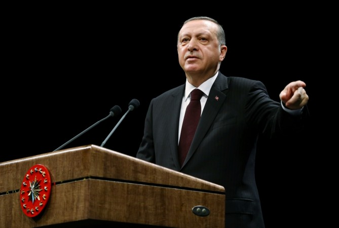 Turkish President Tayyip Erdogan says the Netherlands acting like a 'banana republic'