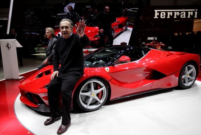 Ferrari Chairman and CEO Sergio Marchionne