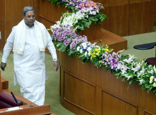Karnataka CM presents Rs 383 cr deficit Budget