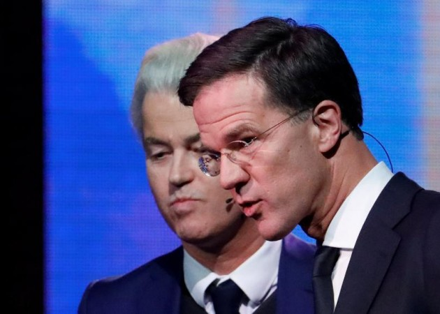 Mark Rutte & Geert Wilders