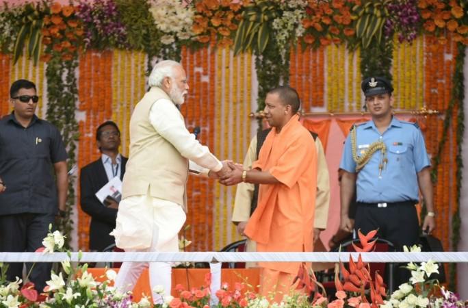 yogi adityanath swearing in, adityanath uttar pradesh chief minister