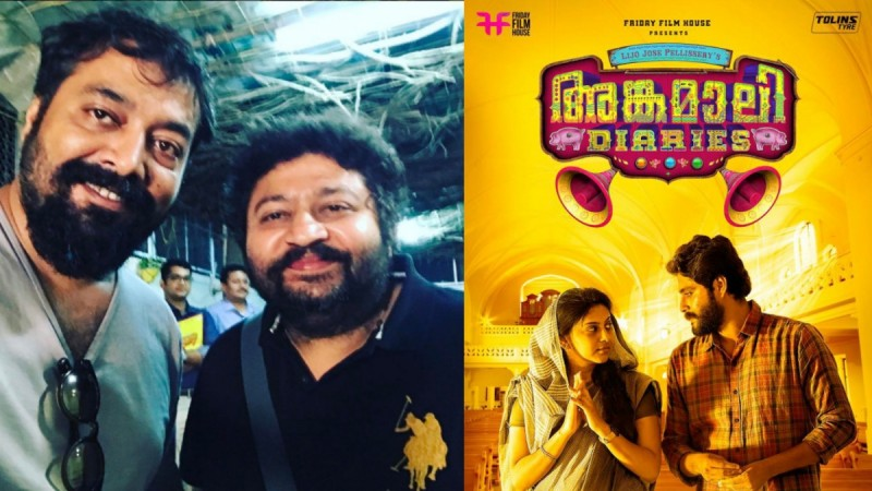 Angamaly Diaries, Lijo Jose Pellissery, Anurag Kashyap