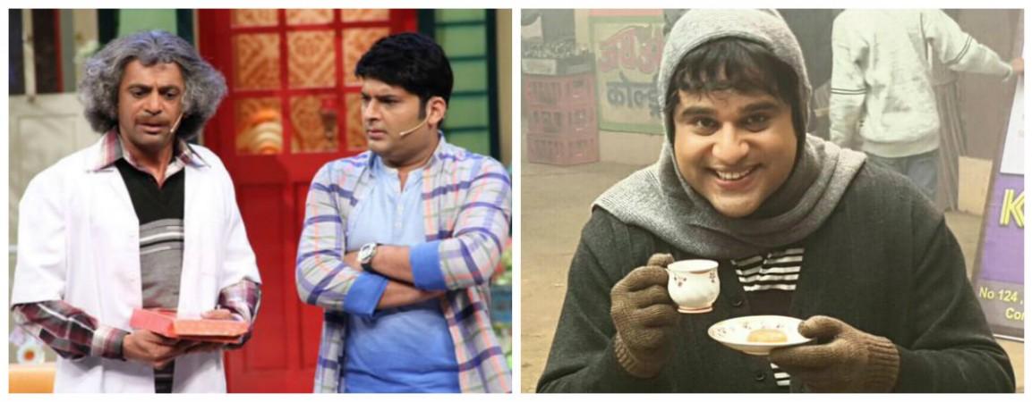 Sunil Grover, Kapil Sharma and Krushna Abhishek