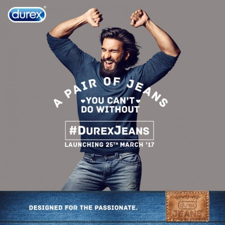 For Some Reason, Durex Condom Brand Is Launching a Jean Line