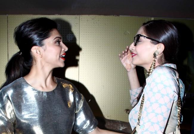Deepika Padukone, Sonam Kapoor