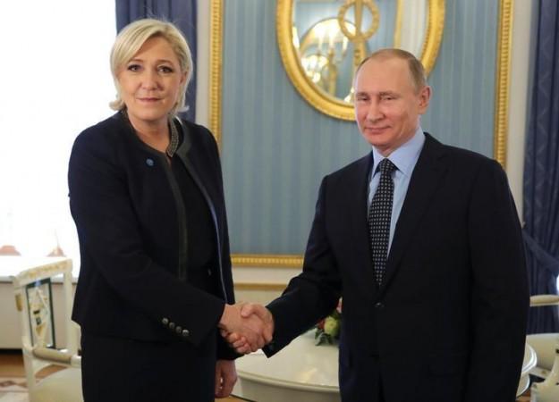Marine Le Pen Putin meeting
