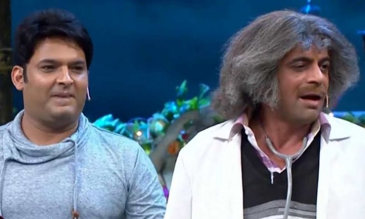 Kapil after fight with Sunil