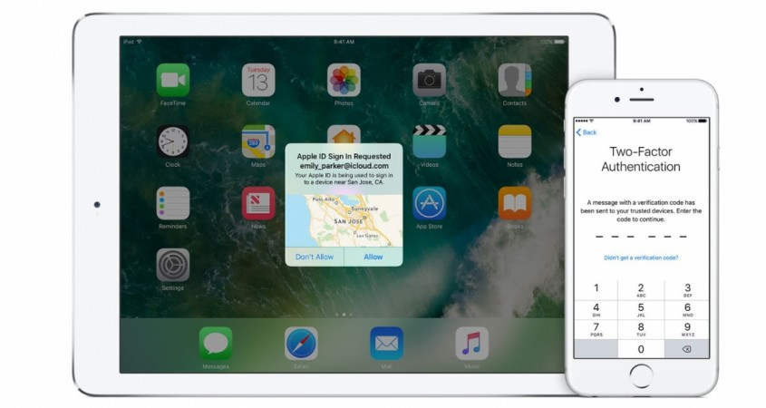 Apple Two-Factor Authentication, how to protect Apple iCloud