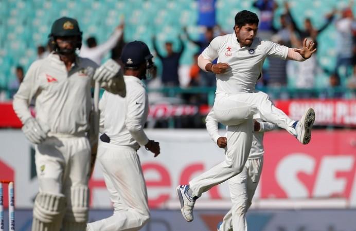 Umesh Yadav India vs Australia 4th Test Twitter India close to series win