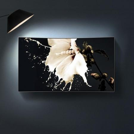Samsung showcases premium QLED TVs