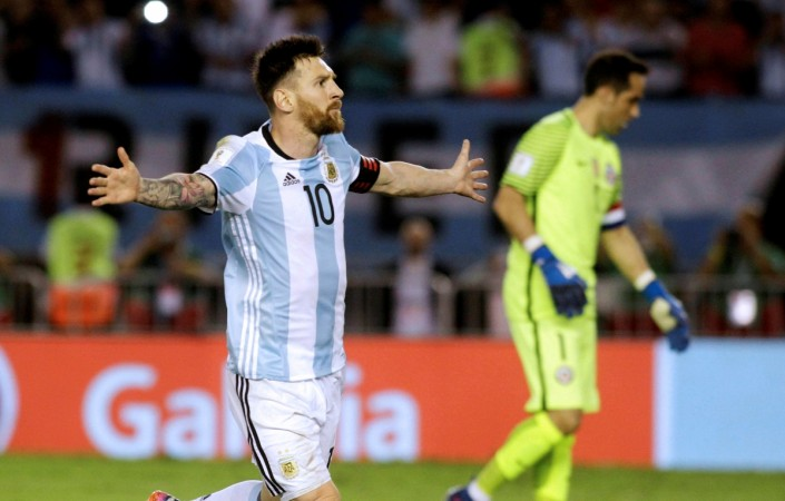 Lionel Messi handed four-match international ban for insulting official